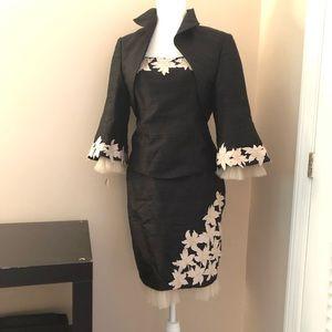 La Bottega Silk 3 Piece Dress